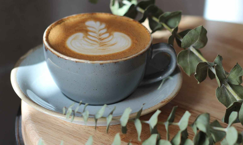 grey ceramic coffee cup