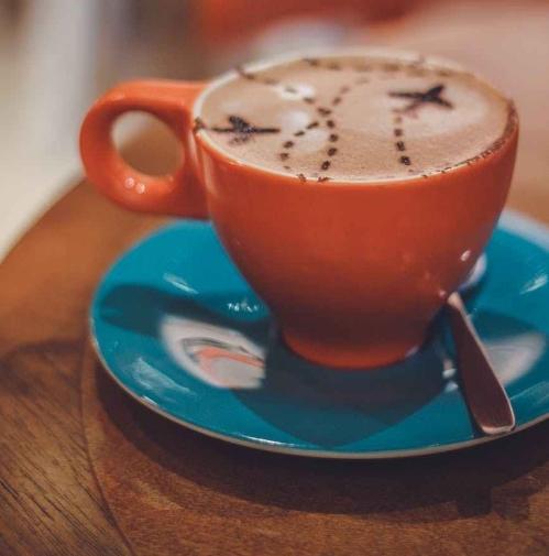 art beverage blur cafe